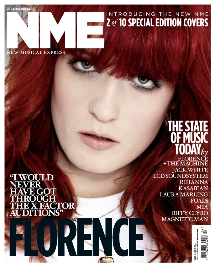 nme magazine cover. edition cover - 1 of 10